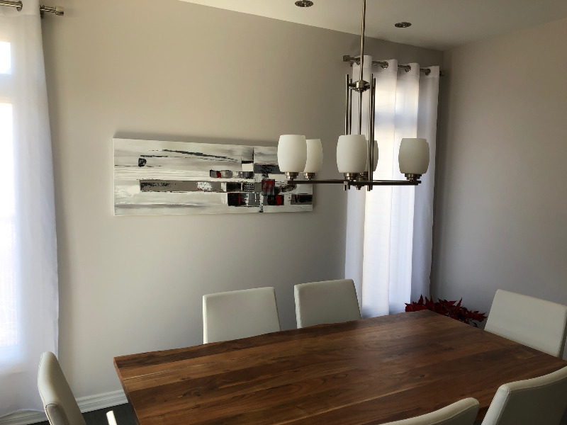 Contemporary Dining Room Chandelier