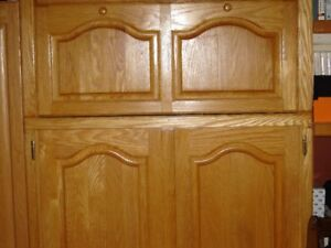 Full Oak Kitchen Cabinets for Sale