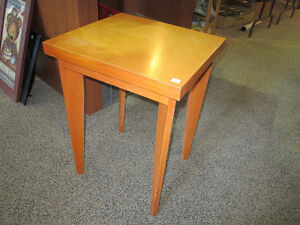 Wood End Table For Sale