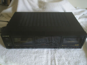 Dual Stereo Cassette Player