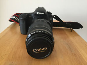 Canon 60D with Canon 70-300 lens