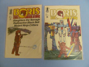 13 high grade issues of Boris the Bear