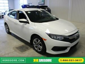 2016 Honda Civic LX A/C Gr-Électrique Bluetooth Cam