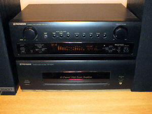 Fully working Pioneer CX4000 with M4000 amp home stereo