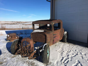 1930 Durant 3 window coupe rat rod Lucky  Star ⭐️