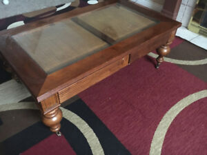 Solid wood beautiful Center Table/ Coffee Table with Side Table