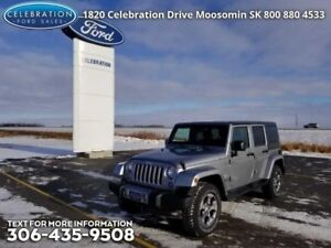 2017 Jeep Wrangler Unlimited Sahara  Christmas Clear Out on NOW!