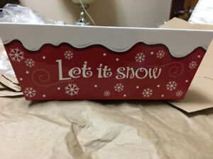Snow Flakes Baskets