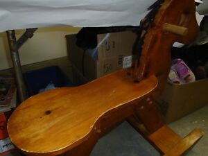 Rocking Horse made of wood - for sale