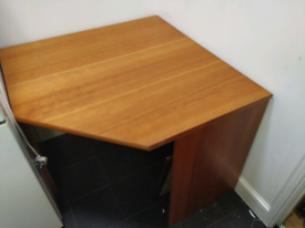 Solid Cherry Wood Table Computer Table 97cm X 96 cm