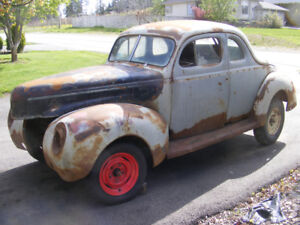 40 Ford Coupe Project