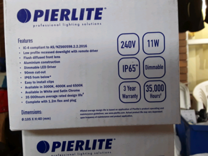 Pierlite 11w LED downlights | Ceiling Lights | Gumtree Australia