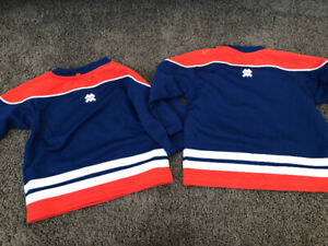 Oilers jerseys size 12 and 24 month