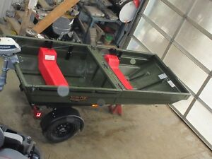 ATV Trailer that flips into a BOAT - TETRA-POD. Kitchener / Waterloo Kitchener Area image 3