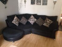 DFS 5 seater corner cuddle sofa