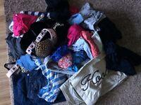 Large Bundle Of Womans Clothes