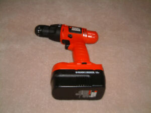 Black and Decker Cordles Drill