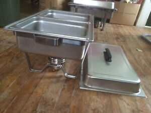 2 chafing dishes and 1 buffet lamp Peterborough Peterborough Area image 4