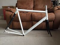 Alu Alloy and Carbon road frame and forks 700c