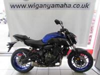 YAMAHA MT-07 ABS 2018 MODEL 36 MONTHS 0% APR, 99 DEPOSIT, CALL FOR BEST PRICE..