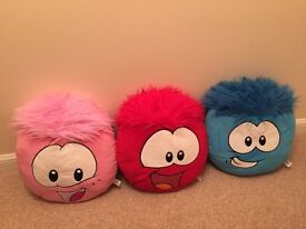 Disney Puffle Cushions