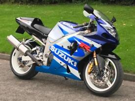 2002 Suzuki GSXR 1000 K1 Super Sport Superbike