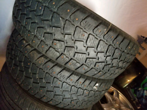 "225/60-16"" studded winter tires"