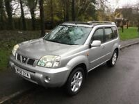 2005 Nissan X-trail 2.2 Sport DCI-1 lady owner-July 2018 mot-full service history-4x4