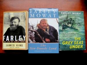 Farley Mowat Books , Good Fathers Day gift