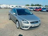 2008 Ford Focus 2.0 CC2 2d 135 BHP Coupe Diesel Manual