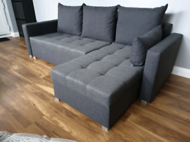 Free Delivery* Brand New Corner Sofa Bed Was £750 now £340.