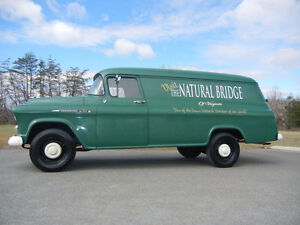 Wanted 1955 1956 and 1957 Chev Panel Trucks