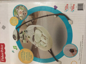 Fisher price snugabunny infant swing for sale
