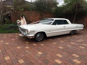 Classic Chevrolet Impala Hire Melbourne CBD Melbourne City Preview