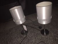 2 lamps £10