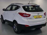 2013 Hyundai ix35 1.7 CRDi SE 5dr 2WD Diesel white Manual