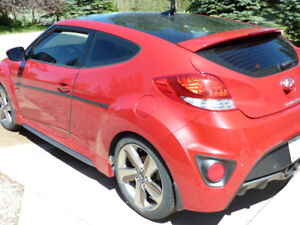 2013 HYUNDAI VELOSTER TURBO/WARRANTY/ EXCELLENT SHAPE