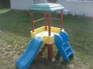 "LITTLE TIKES PLAY SET YOURS FOR ""ONLY"" $35.00 DOLLARS."