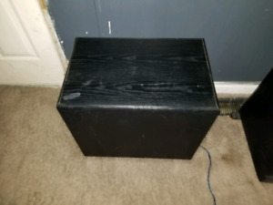 """2/10"""" floor sub for.home stereo"""