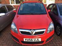 Vauxhall zafira 7 seats mpv 12 months mot great low mileage runner