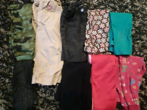 9 pairs of 4t pants ....all for $10