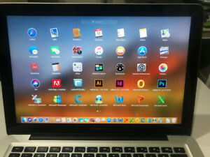"MacBook Pro 2012 13"" 8GB i5 2.5GHZ 500GB M.Office & Adobe PS"