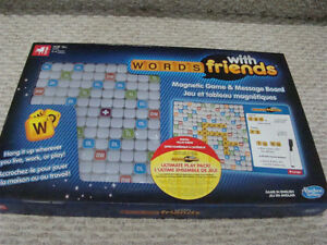 NEW WORDS WITH FRIENDS MAGNETIC GAME & MESSAGE BOARD GAMES 13+ Regina Regina Area image 2