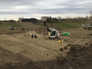 screw piles,for decks,additions,cabins,houses,bobcat services