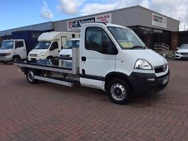 October 2010 Vauxhall movano 2.5 cdti lwb with 12ft flat