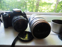 Canon Rebel xti and lenses