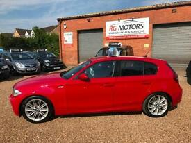 2009 BMW 118 2.0TD D M-Sport Red 5dr Hatchback, **ANY PX WELCOME**