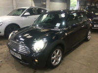 MINI HATCH ONE 1.4 ONE 3d 94 BHP FULL YEAR MOT + FULL SERVICE RECORD (8 STAMPS)