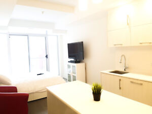 Luxury studios from $1,595. All-Inclusive downtown Ottawa