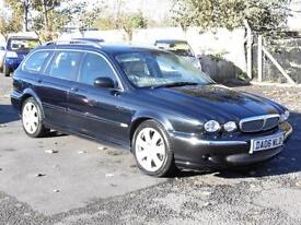 Jaguar X-TYPE 2.5 V6 Auto 2006 SE, Estate, AWD, FSH, 6 Months AA Warranty